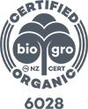 BioGro Certified Organic Logo
