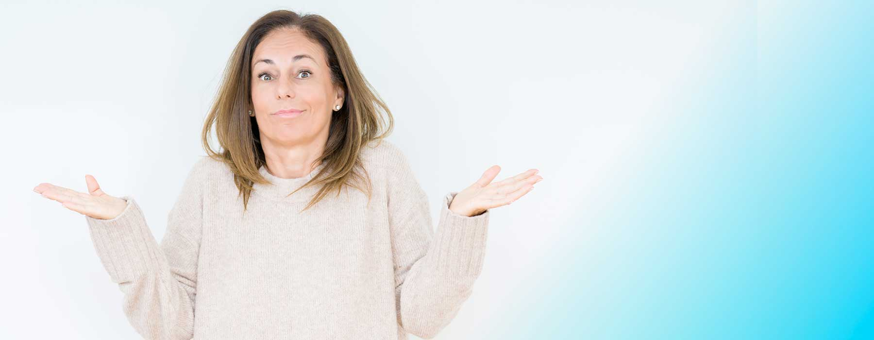"""Woman holding her arms out asking the question """"What is Colloidal Silver?"""""""
